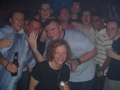 Clubbers in The Playroom at The Arches