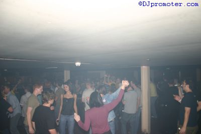 crowd on dance floor