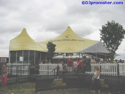 Global Gathering Strongbow Cider House