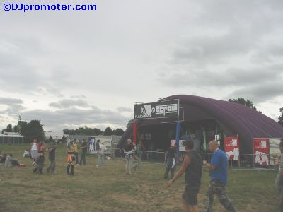 Global Gathering Punch Funk outdoor mini arena