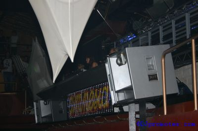 Cocoon at Amnesia, main room DJ box