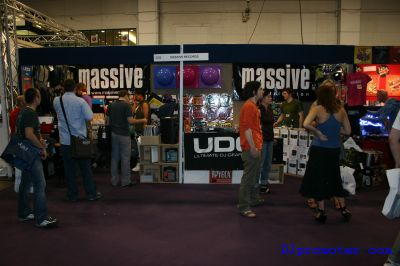 Exhibitor stand - Massive Records