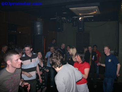 clubbers at Liquid Lounge