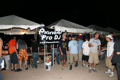 Pioneer stall at Ultra
