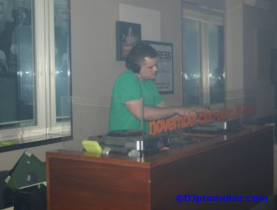 DJ Jim Haggarty