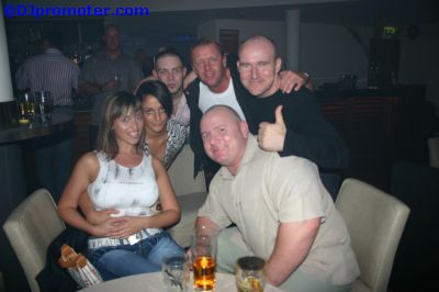 DJ Rod MacLeod and some clubbers